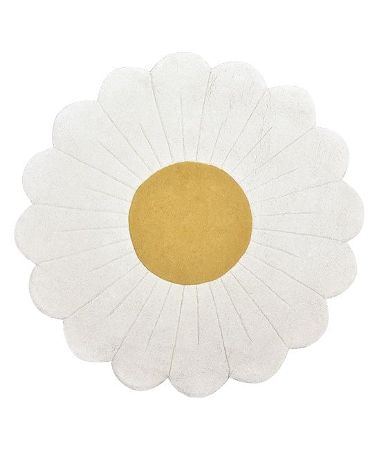 Tapis rond coton Camomille Lilipinso