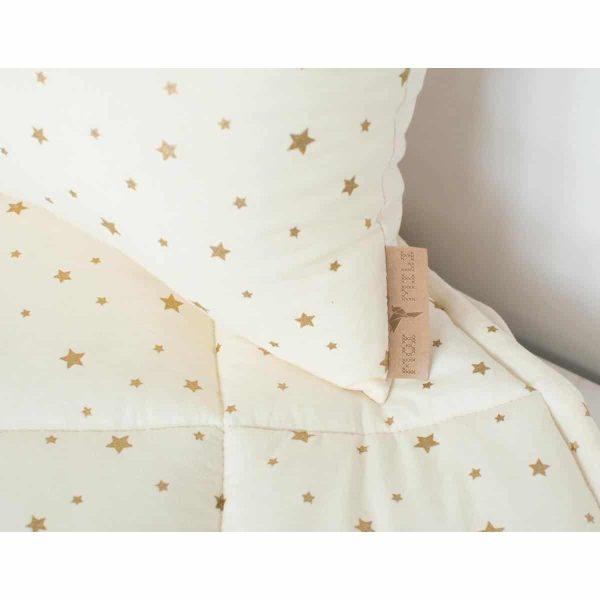 tipi vanille étoiles dorées