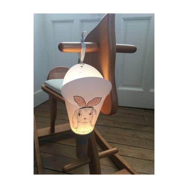 lampe nomade lapin nude