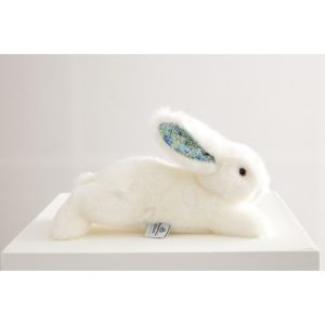 martin le lapin blanc liberty bleu