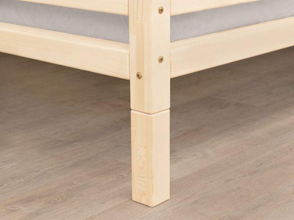 pieds pour lit cabane tery naturel
