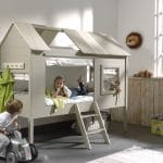 lit cabane enfant en bois