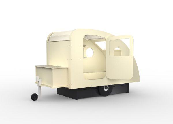 lit enfant caravane ivoire mathy by bols