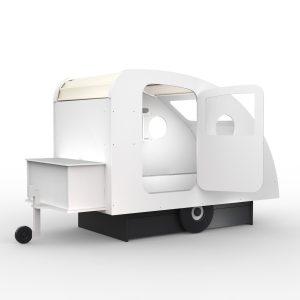 lit enfant forme caravane