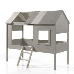 lit cabane enfant bois