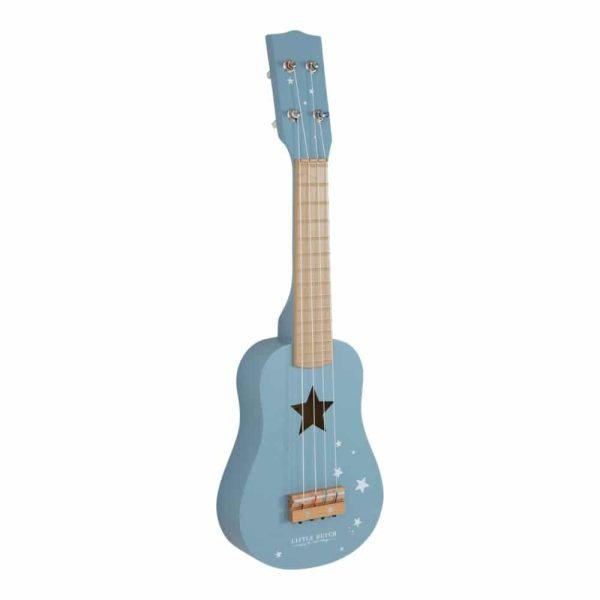 little-dutch-guitare-bleue-bleu-majoliechambre