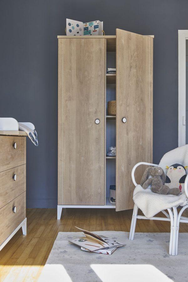 armoire enfant 2 portes