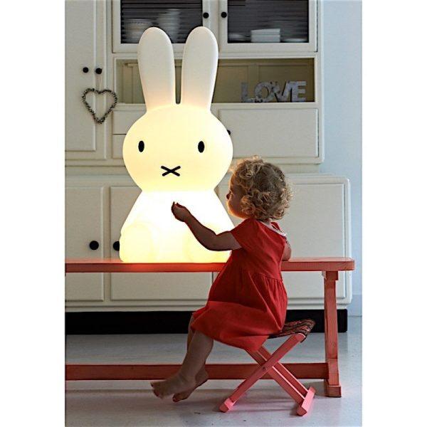 lampe enfant à poser Miffy XL