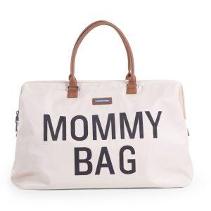 sac maternité blanc