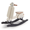 moto bois rocking