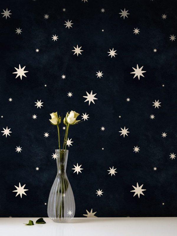 papier peint nuit étoilée