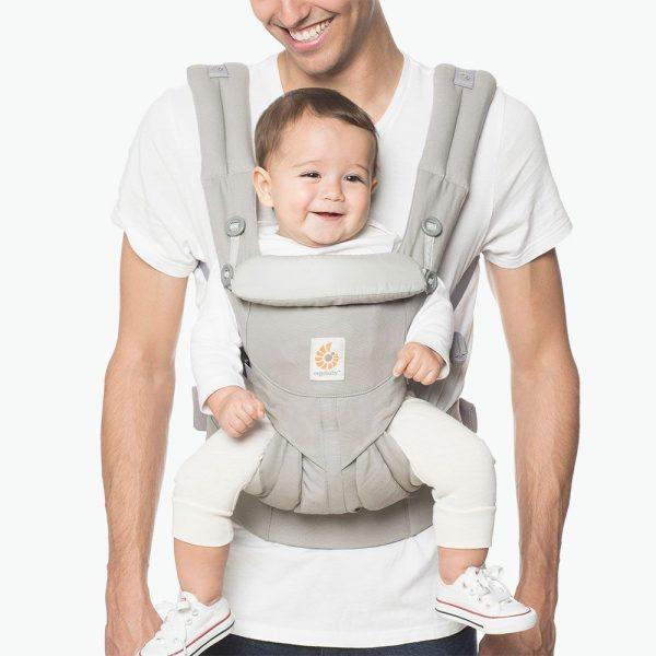 Porte bébé Omni 360 Ergobaby gris