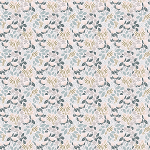 papier peint motif fleuri