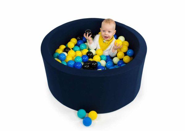 piscine à balles ronde Blue navy