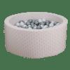 Piscine à balles ronde Graphic rose