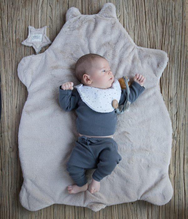 Plaid polaire bébé