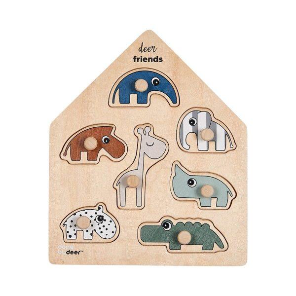 puzzle bébé done by deer