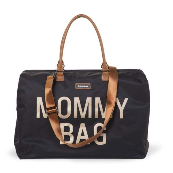 sac mommy bag noir