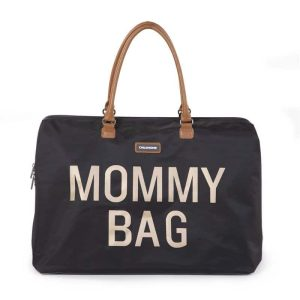 sac mommy bag noir childhome