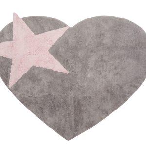 tapis coeur étoile