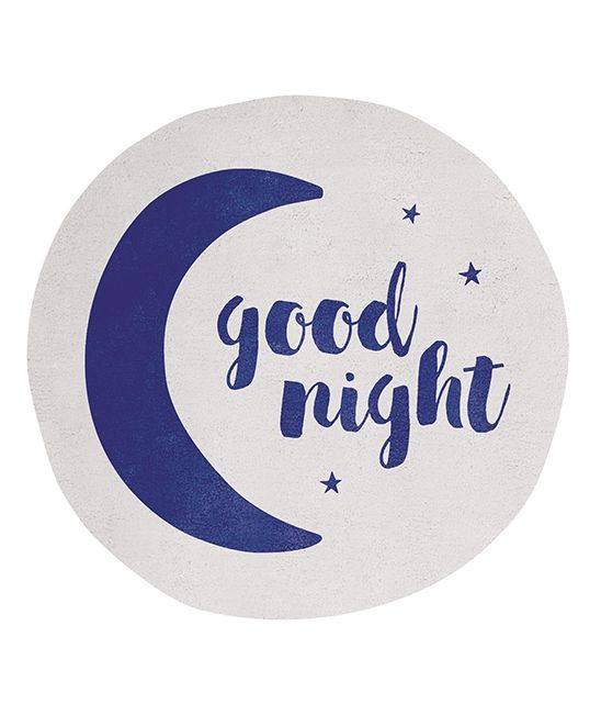 tapis chambre enfant Good Night