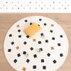 tapis coton enfant cubes
