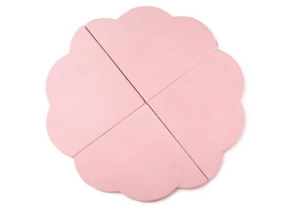 tapis de jeu nuage rose pastel