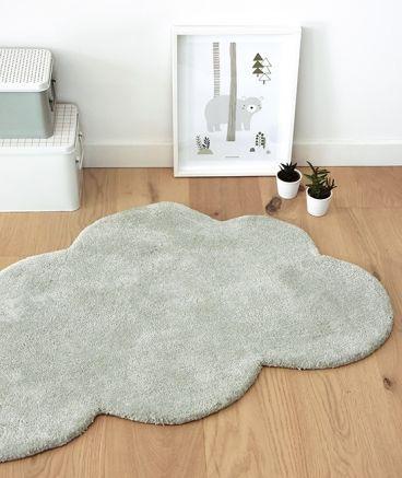 tapis chambre enfant forme nuage