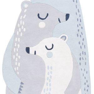 tapis enfant coton ours
