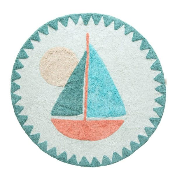 tapis rond petit bateau