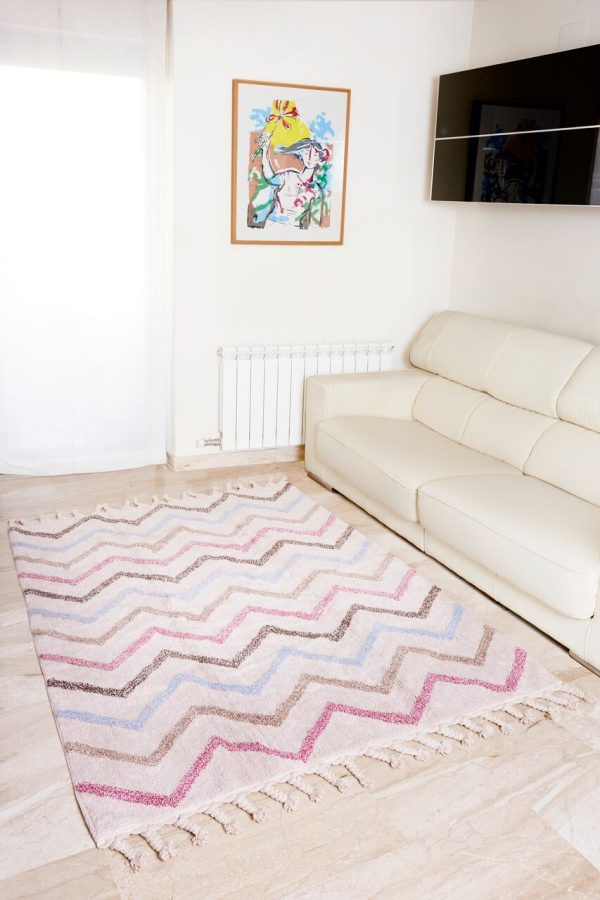 tapis coton chambre enfant