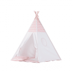 tipi pour fille chevrons rose