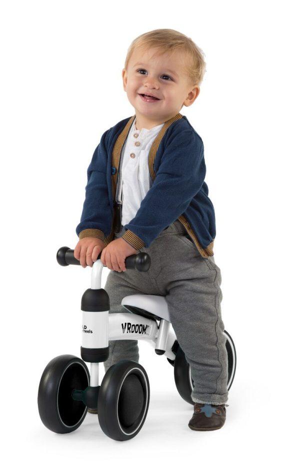 porteur enfant vélo blanc