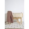 berceau en rotin carré avec matelas et bordure jersey écru childhome (7)