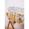 couffin moïse raphia naturel avec matelas & housse jersey léopard childhome (2)