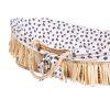 couffin moïse raphia naturel avec matelas & housse jersey léopard childhome (6)