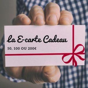 E-Carte cadeau (50, 100, 200€)