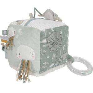 cube d'activités doux Ocean Mint Little Dutch