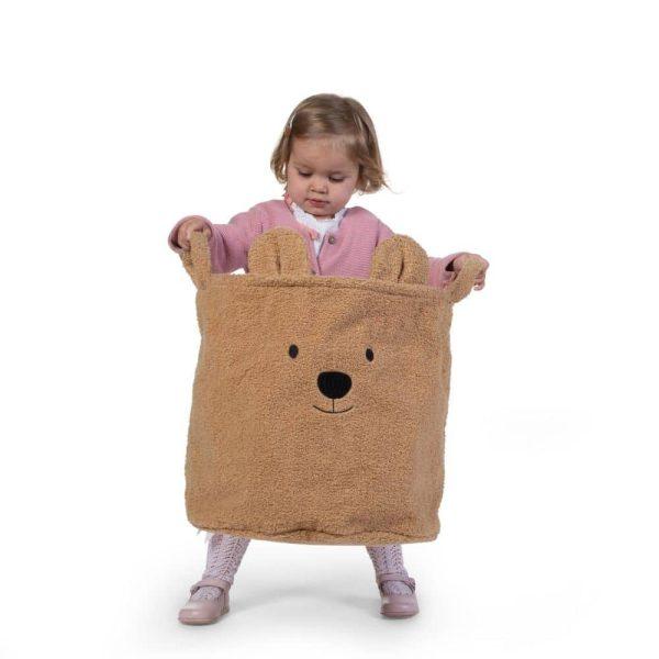 Paniers de rangement pour enfants Teddy Beige