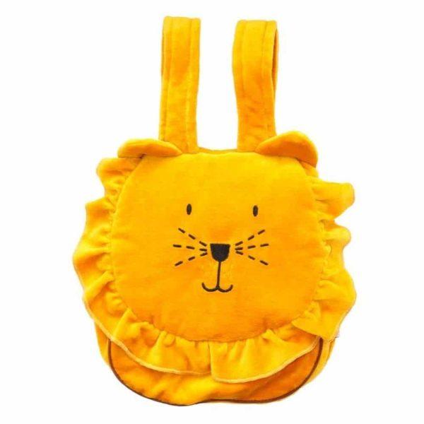 sac à dos enfant velours lion
