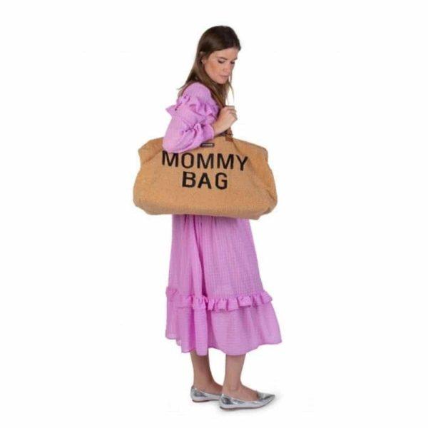 Sac Mommy bag Teddy Beige