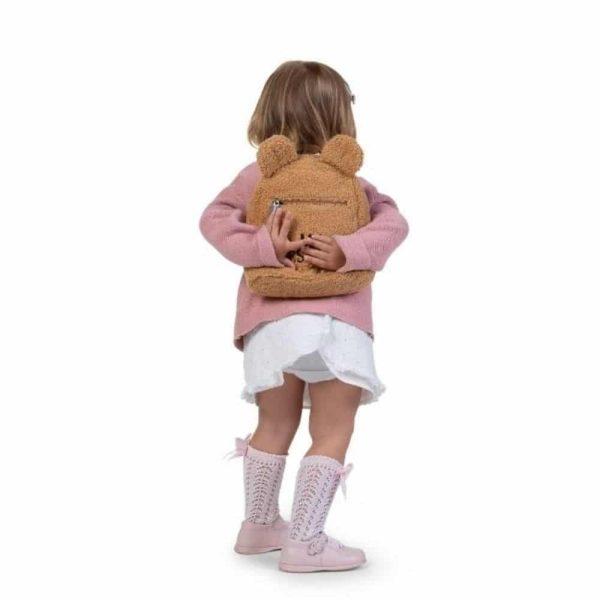 Sac à dos My First Bag Teddy Beige