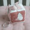 cube d'activités doux Ocean Pink Little Dutch