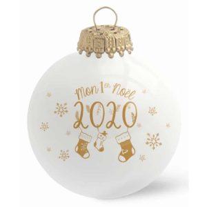 Boule de Noël Mon 1er Noël - Baubels