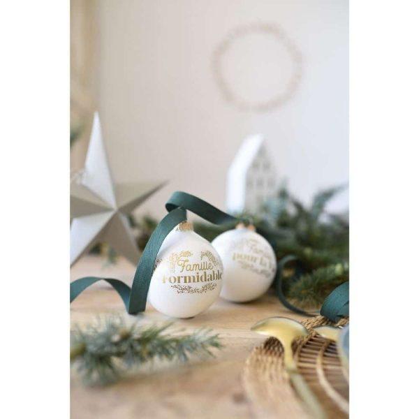 Boule de Noël Famille Formidable – Baubels