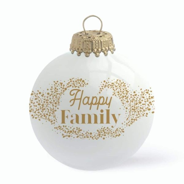 Boule de Noël Happy Family – Baubels