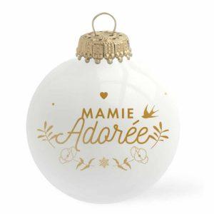 Boule de Noël Mamie Adorée – Baubels