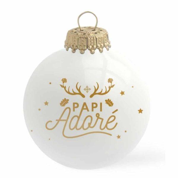 Boule de Noël Papi Adoré – Baubels