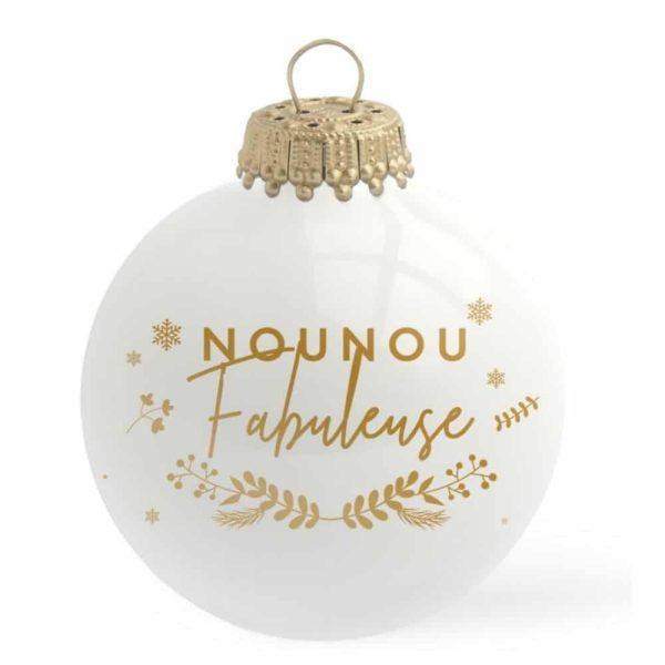 Boule de Noël Nounou Fabuleuse – Baubels