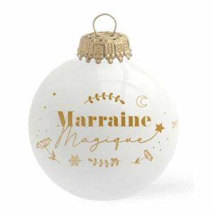 Boule de Noël Marraine Magique – Baubels